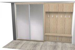 Vizualizace vestavných skříní